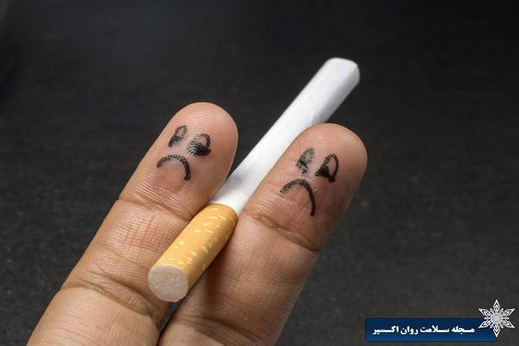 مدیریت میل به سیگار